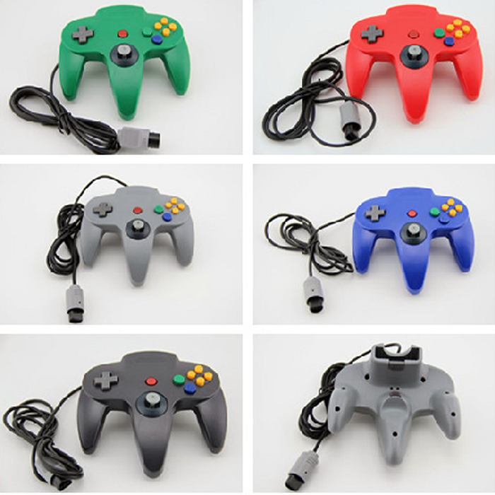Low MOQ For N64 controller for Wii N64 Gamepad For N64 Joystick, classic pc gamepad
