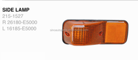 TAIL LAMP 215-1964,SIDE LAMP R 26180-E5000/L 16185-E5000,FRONT LAMP 215-1665-A/R 26180-30Z04/L 26185-30Z04 FOR NISSAN CONDOR 95