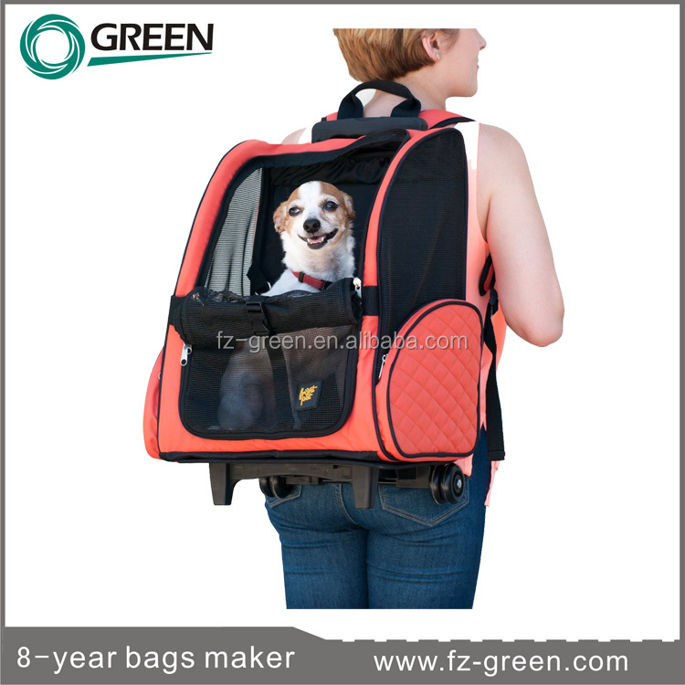 Pet products dog Carrier with wheel