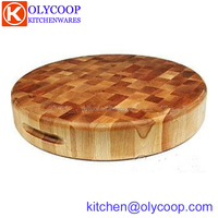 Chopping Block Tpye Wood End Grain