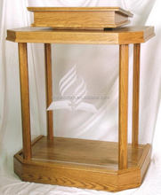 Cheap hotsell clear church podium