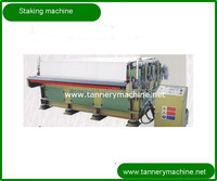 Leather tanning staking machines for sale 2,3,4 heads