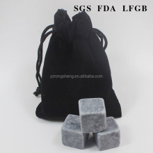20MM custom FDA/LFG food grade soapstone whiskey stones