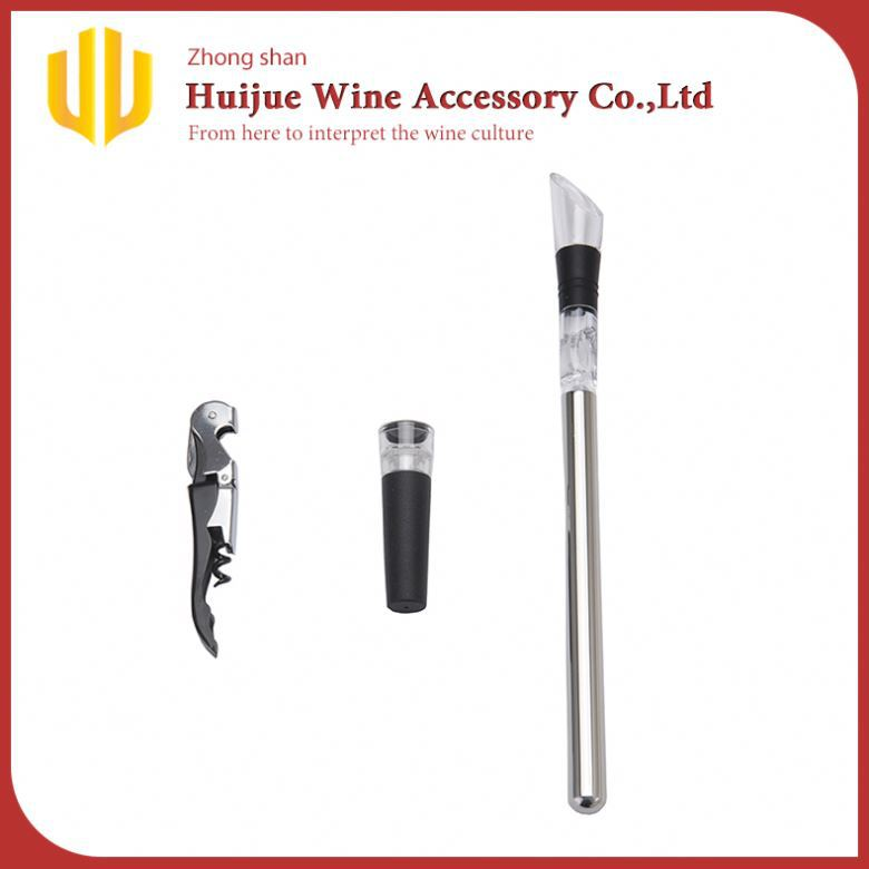 stainless steel bottle wine sticks reusable stainless steel beer chiller stick beer cooler stick