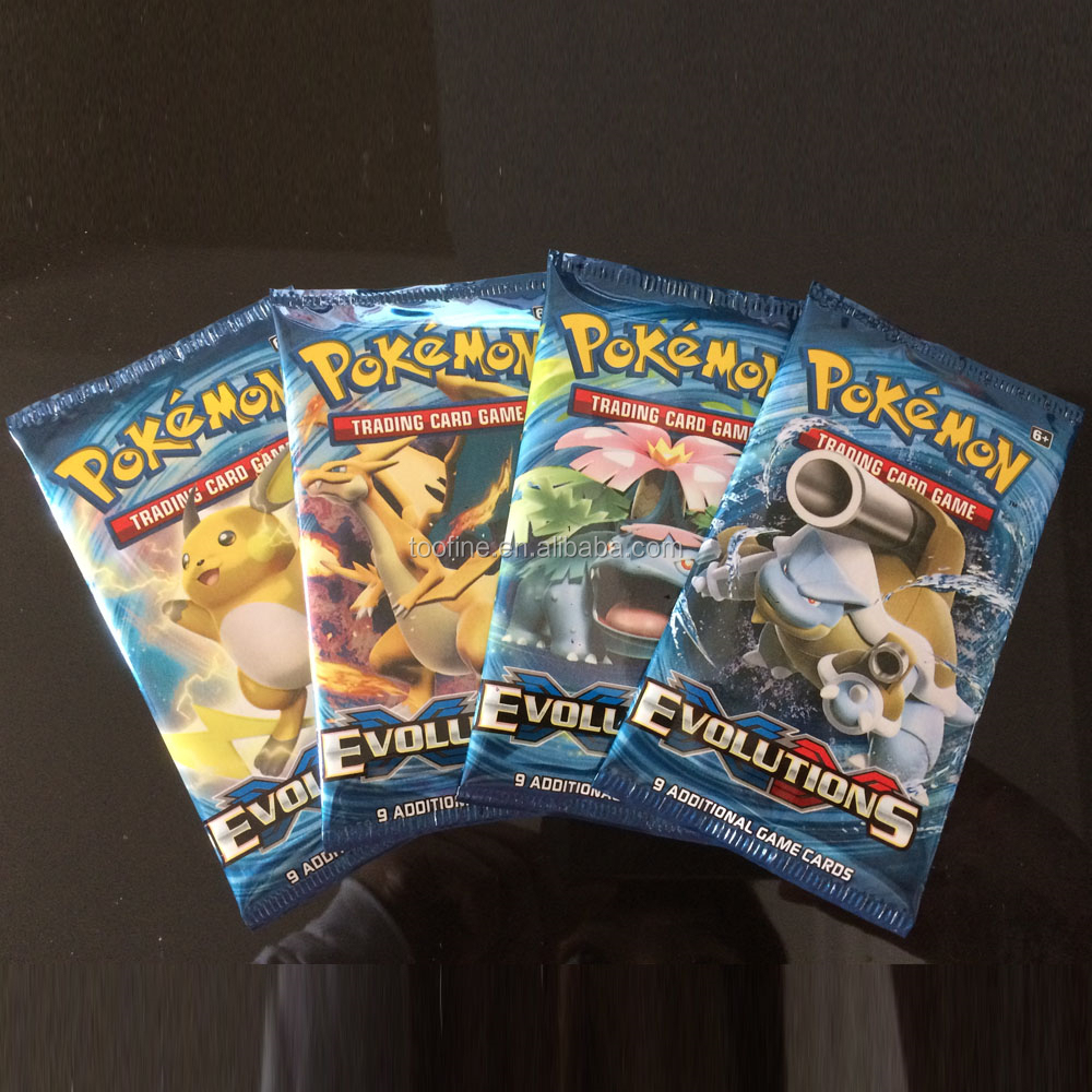 Pokemon TCG Card Game XY Evolution New Sealed Booster Box - 36 packs of 10 cards each