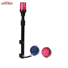 Cheapest Motorcycle Rear Pole Led Strobe Light High Quality Motorcycle Pole Led Emergency Warning Lights for sale