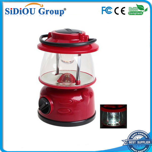 rechargeable led emergency lantern with radio