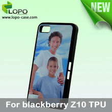 New-Subimation Phone Case for Blackberry Z10(TPU material)