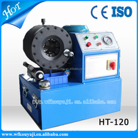 excavator hose crimping machine/air pipe crimper/oil hose clamp machine