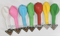 "various colors printed 12"" inches inflatable led light latex balloons"