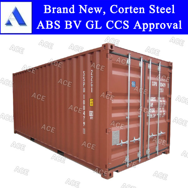 Brand new 20 foot sea container with CSC certified