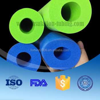 wholesale China customized heat insulation NBR Tube NBR Rubber Foam pipe hose Tube NBR Sponge Tube supplier