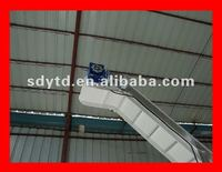 Acclivitous pvc belt conveyor machine