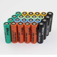 Hot sale! Rechargeable RC car/RC helicopter cylindrical 18650 3.7V 2250mAh battery cell