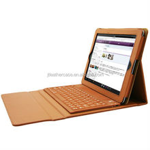 Brown Bluetooth Wireless Keyboard with Leather Case Stand Cover for iPad 2 3 4