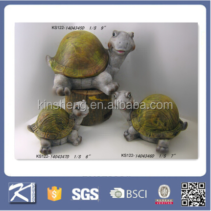 ceramic animals garden turtle decoration