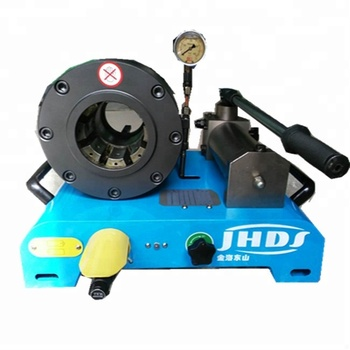 Cheap new mobile hydraulic hoses crimping machine