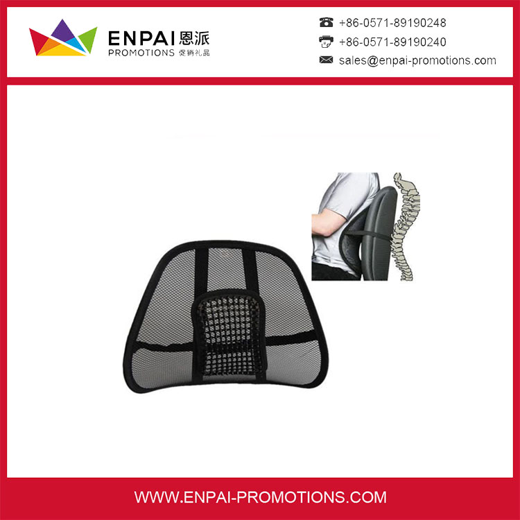 Wholesale promotional cheap car seat mesh back lumbar support