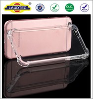 2016 Newest Model Shockproof Transparent Clear Soft TPU gel back cover case for Apple iPhone 7