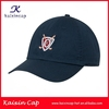 navy blue golf cap embroidery logo out door golf cap