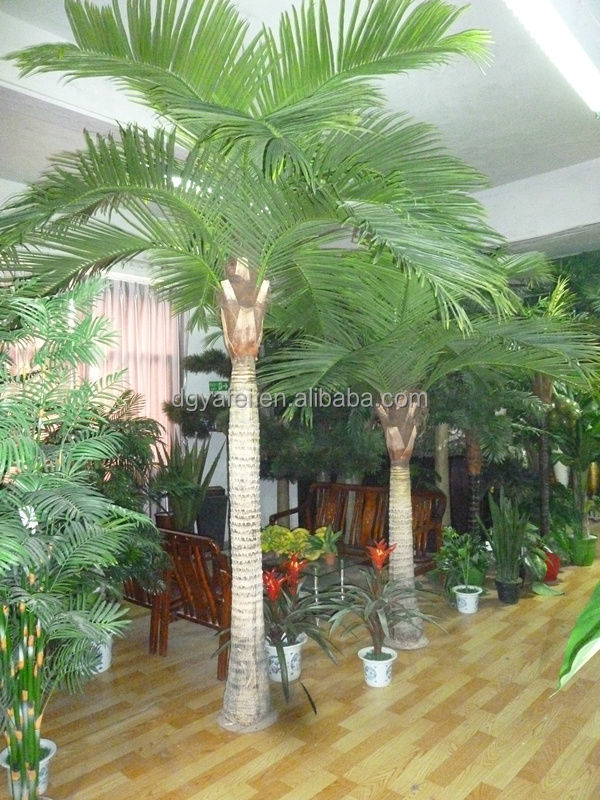 High imitation evergreen artificial/fake decorative coconut tree for indoor & outdoor landscaping
