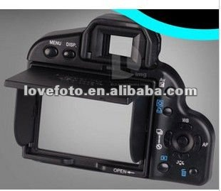 Digital camera lcd screen hood