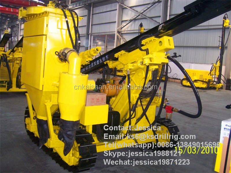 Kaishan Diesel Power Borehole DTH Drilling Rig KY100