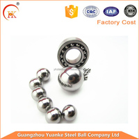 Yuanke China precision 4mm/6mm/8mm/10mm/12mm bulk steel balls for bearing,stainless steel ball bearings in stock
