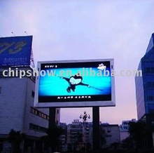 P16 Full Color Advertising Outdoor Moving Led Sign