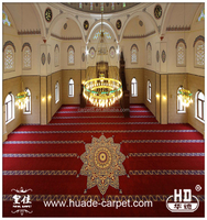 Top Quality Prayer Mosque Carpet with Axminster Design