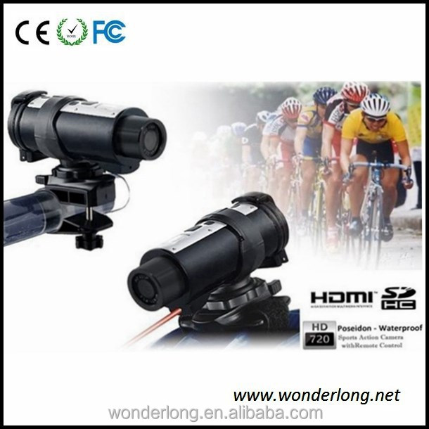 AT10 Sport Camera Bike Action Camera HDMI 720P Waterproof up to 10 Meters Contro Remote