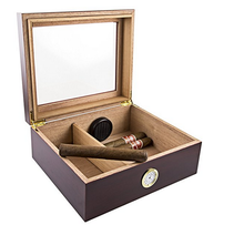 luxury wooden cigar humidor box for sale