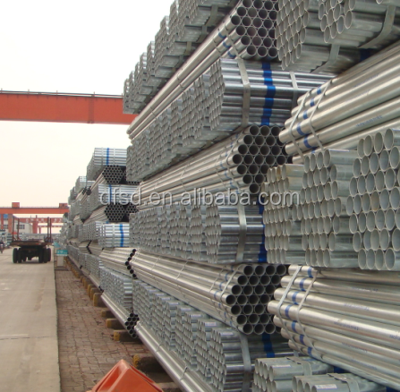 best selling!products pre galvanized steel pipe 4 inch schedule 40 galvanized steel pip/galvanized round steel manufacturer
