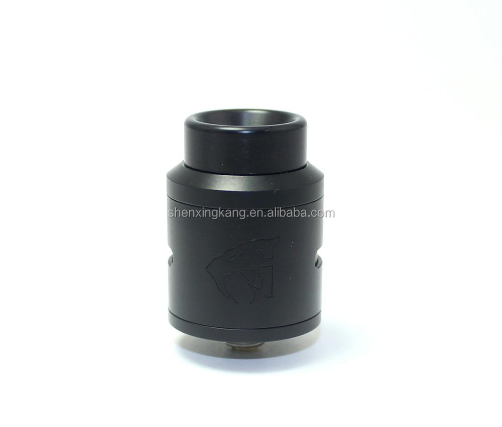 2017 hot product sxk new 1:1 clone 528 goon 1.5 rda black color with ss316 material
