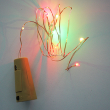 Factory wholesale cheap battery operated Christmas Led Firefly Flexible String Light,led copper string light
