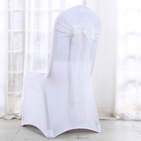 Fancy chair sashes wholesale white chair sashes
