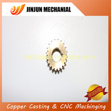 Leadway china customized small brass helical gears