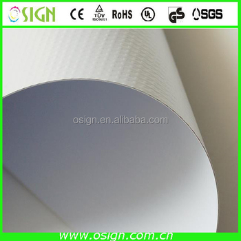 Outdoor super flat pvc double side banners pvc blockout banner roll for signs