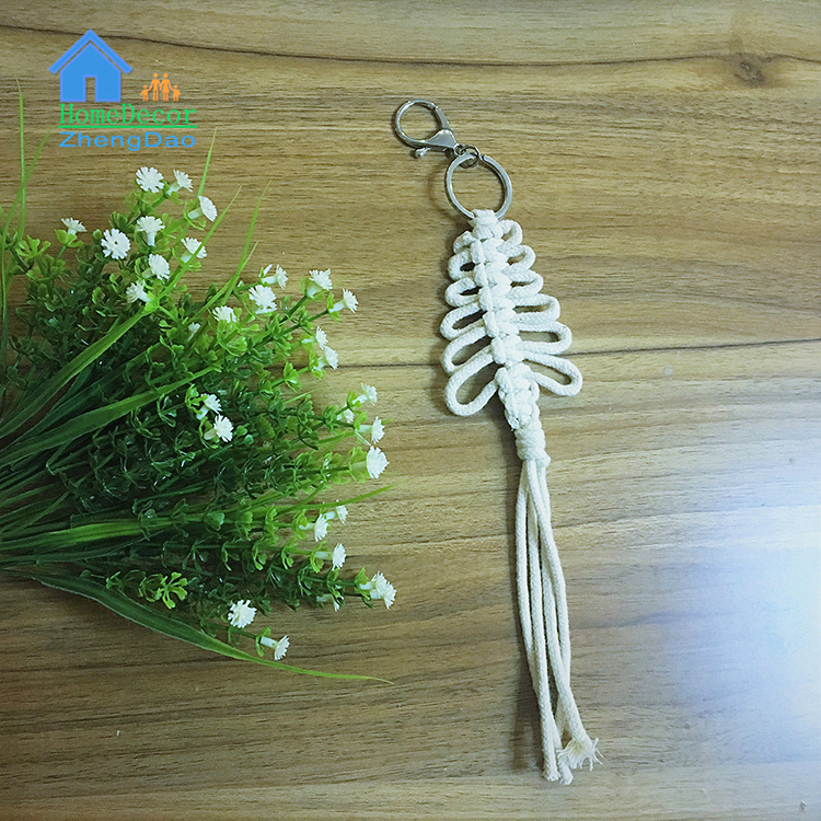 New Products pure cotton macrame home decor wall hanging manufacturer
