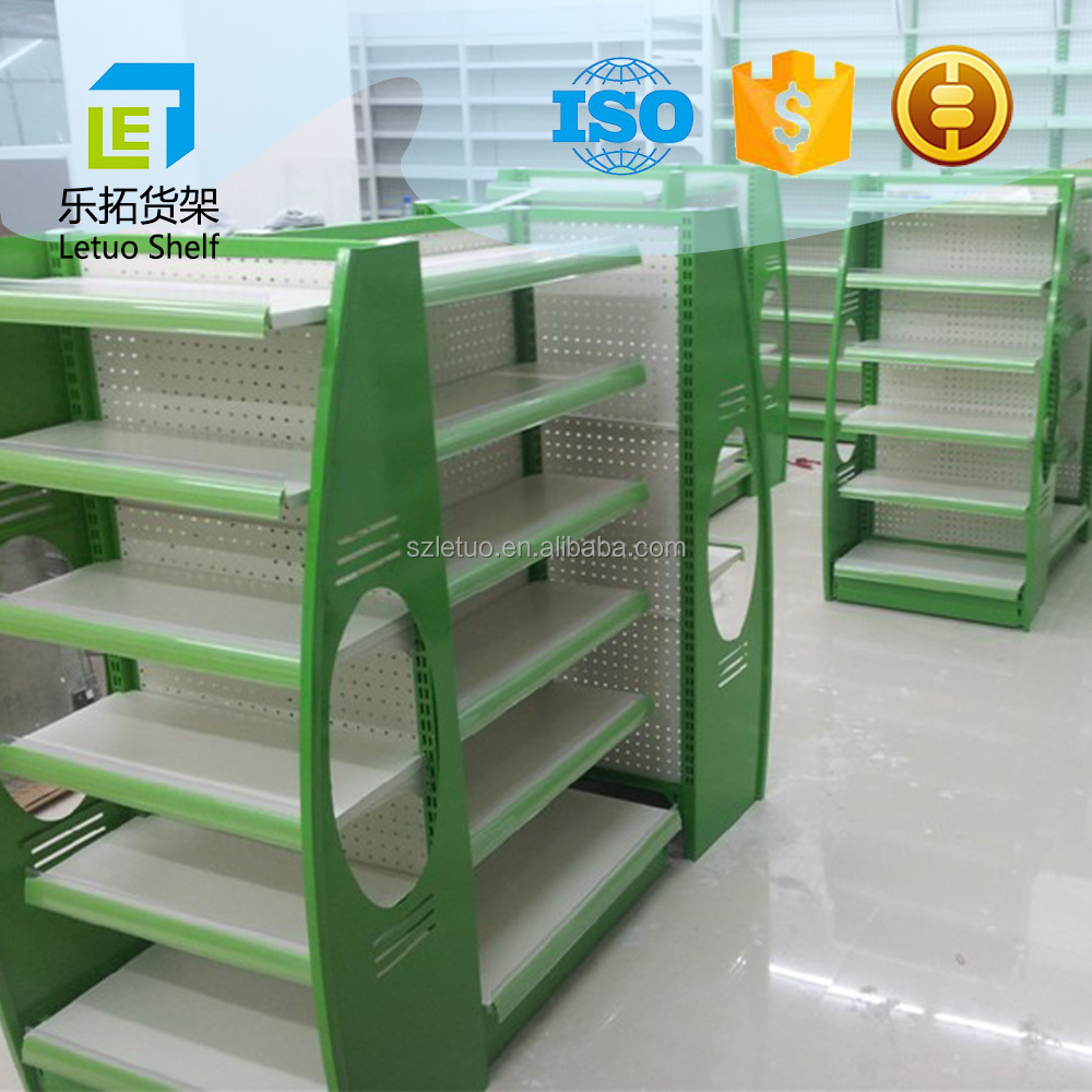 high quality metal portable product display shelves China manufacturer