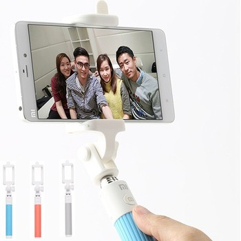 Original Xiaomi Selfie Stick for mobile phone Holder Extendable Handheld Bluetooth Shutter for IOS and Android Mobile Phone