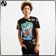 New arrival men 50 polyester 38 cotton 12 rayon bleached t shirts , t-shirts in bulk