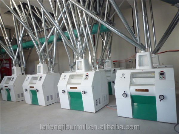 Most popular wheat flour mill machines