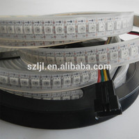 SMD 5050 WS2811 WS2812 IC DC5V DC12V Digital Addressable RGB Led Strip 144leds/M