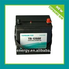 TOPBAND high qualtity TB-1260F 12V 60Ah car battery pack with PCM and SLA hardcase