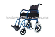 Slope Armrest Easily Transportation Wheelchair with CE