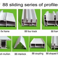 China Factory Pvc Window Profile Pvc