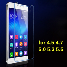 for Universal universal phone tempered film 3.5 / 4.0 / 4.3 / 5.0 / 5.3 / 5.5 / 5.7 / 6.0 inch wholesale glass film