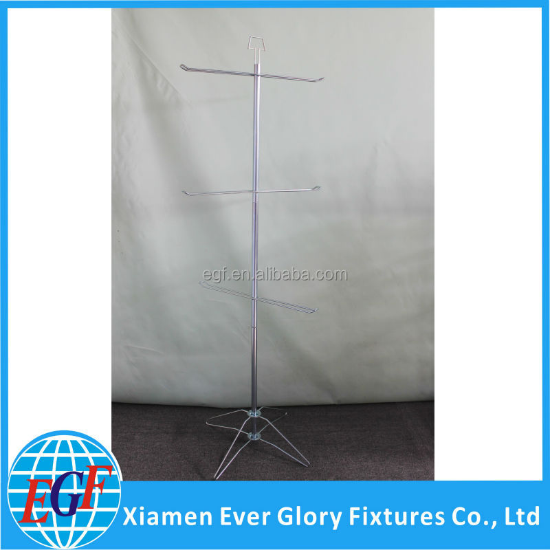 3 Tiers Metal Wire Rotating Display Rack
