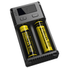 new version!!! Nitecore new i2 charger 2 bay 18650 charger Nitecore new i2 intelligent I2 I4/D4 New Nitecore charger